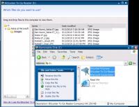 BitLocker To Go Reader liest unter Windows XP ein verschlüsseltes Laufwerk