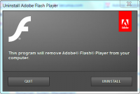 Adobe Flash Uninstaller