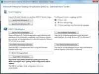 MED-V 2.0 Administration Toolkit (Quelle: Microsoft)