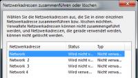 Netzwerkverbindungen unter Windows 7 löschen oder zusammenführen