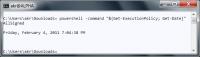 Direkte Ausführung zweier PowerShell-Befehle aus cmd.exe heraus