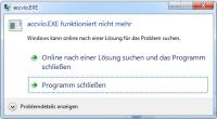 Windows Error Recovery (WER)