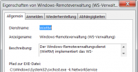 Der Windows-Remoteverwaltungsdienst (WinRM)