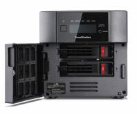 Das NAS-System Buffalo TeraStation 5210DN stellt bis zu 16 TByte Speicherplatz bereit.