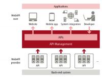 Fujitsu K5 - Ein Teil der Cloud-Dienste sind PaaS-Services, etwa für das API-Management.