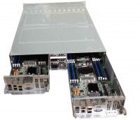 Giada Twin-Node-Server GCR2512T-RF mit zwei separaten Server-Einheiten