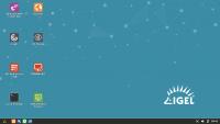 Der Desktop des neuen IGEL Linux 10