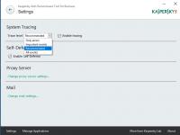 Das Kaspersky Anti-Ransomware Tool for Business beschränkt sich auf wenige Konfigurationseinstellungen.