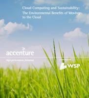 Studie von Accenture und WSP zur Umweltverträglichkeit von Cloud-Computing