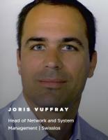 Joris Vuffray, Head of Network and System Management bei Swisslos