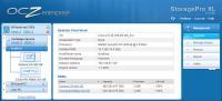 OCZ StoragePro XL 1.1 - Web-Frontend