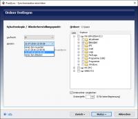 PureSync 4.5 - Auswahl einer Schattenkopie