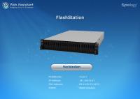 Das Management der Synology FlashStation 3017 erfolgt über ein Web-Interface.