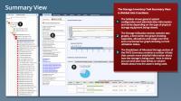 Unitrends Storage Capacity Tool - Dashboard mit Gesamtüberblick