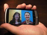VidyoMobile auf einem Android-Smartphone