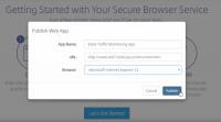 Secure Browsing Essentials bietet mehr Kontrollmöglichkeiten als der Citrix Secure Browser.