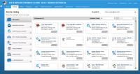 Dell EMC Enterprise Hybrid Cloud - der Self-Service-Katalog mit diversen Anwendungen
