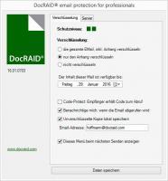 DocRAID - E-Mailverschlüsselung für Microsoft Outlook ab Version 2010