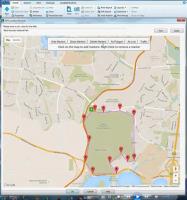 "HPE Content Manager ermittelt per GPS, an welchem Ort sich bestimmte Datensätze ""aufhalten""."