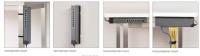 Eine Auswahl der Montage-Optionen des Prosafe GSS108EPP