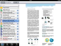 Teamdrive - die App für iOS auf dem iPad