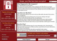 600 Dollar sollen Opfer der Ransomware WannaCry für einen Entschlüsselungscode für Daten auf Festplatten und SSD zahlen.